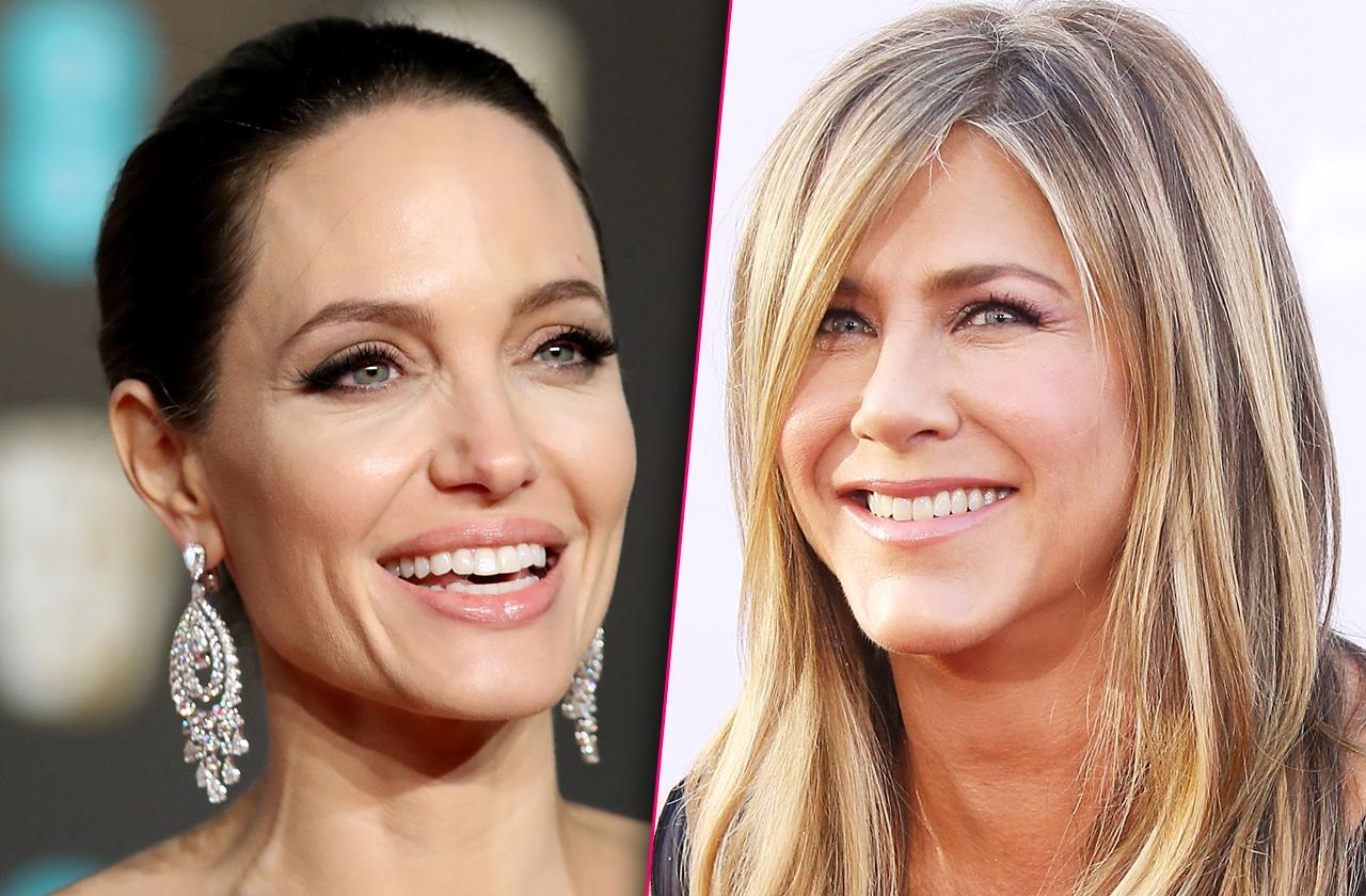 Jennifer Aniston Ready To Make Amends With Angelina Jolie