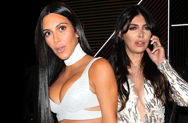//kim kardashian bff brittny gastineau meltdown social media pp
