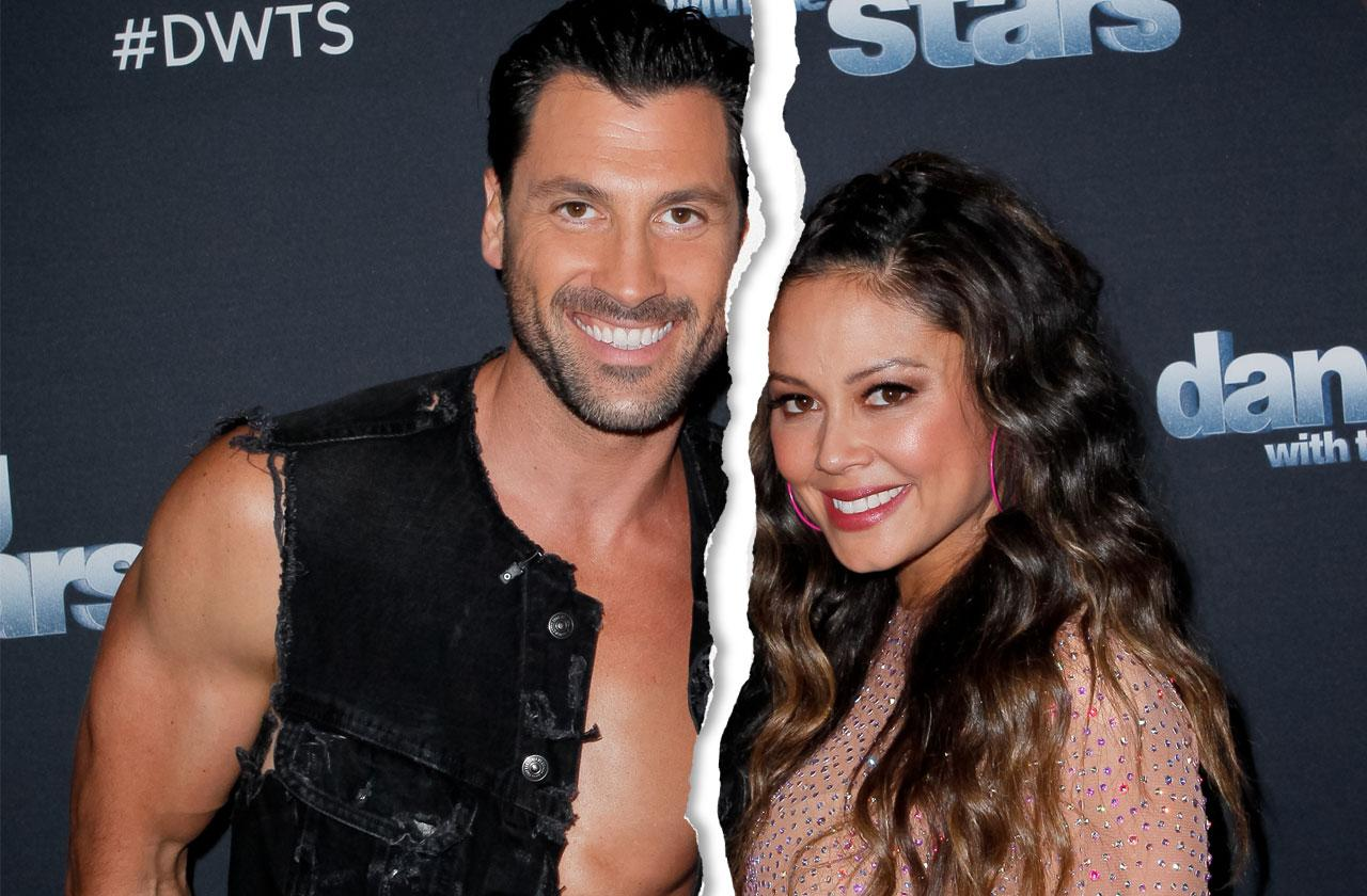Maksim Chmerkovskiy & Vanessa Lachey 'Dancing With The Stars' Bad Relationship