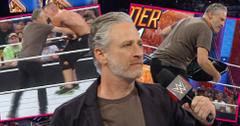 Jon Stewart John Cena Monday Night Raw