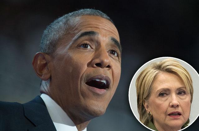 barack obama vacation president snubs hillary clinton fundraiser