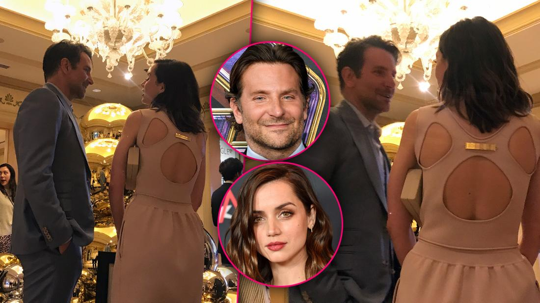 Bradley Cooper Flirting With New Bond Girl Ana De Armas