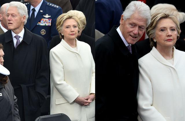 Hillary Clinton Bill Checking Out Ivanka Trump Inauguration Video