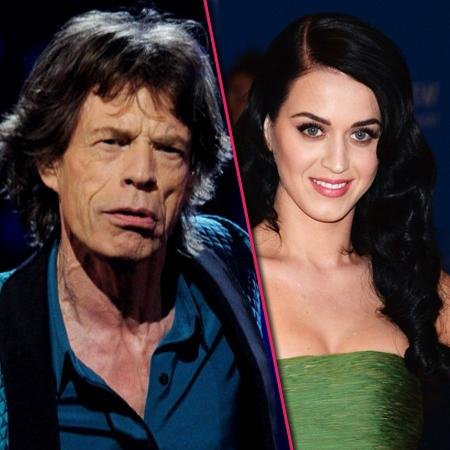 //mick jagger katy perry