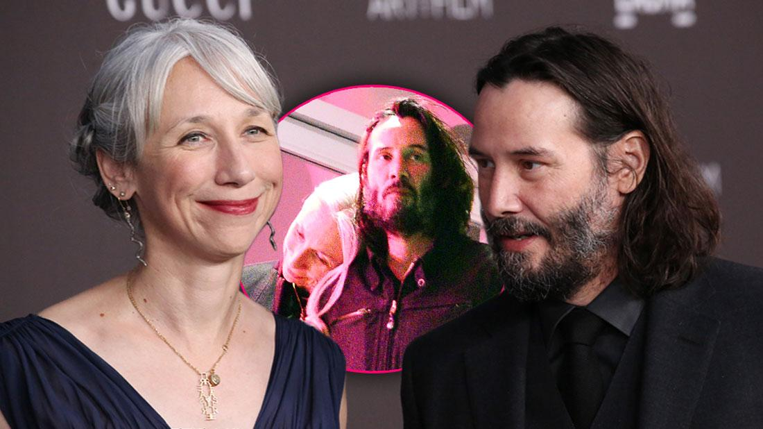 Keanu Reeves Has Been Dating Alexandra Grant For Years: Photos