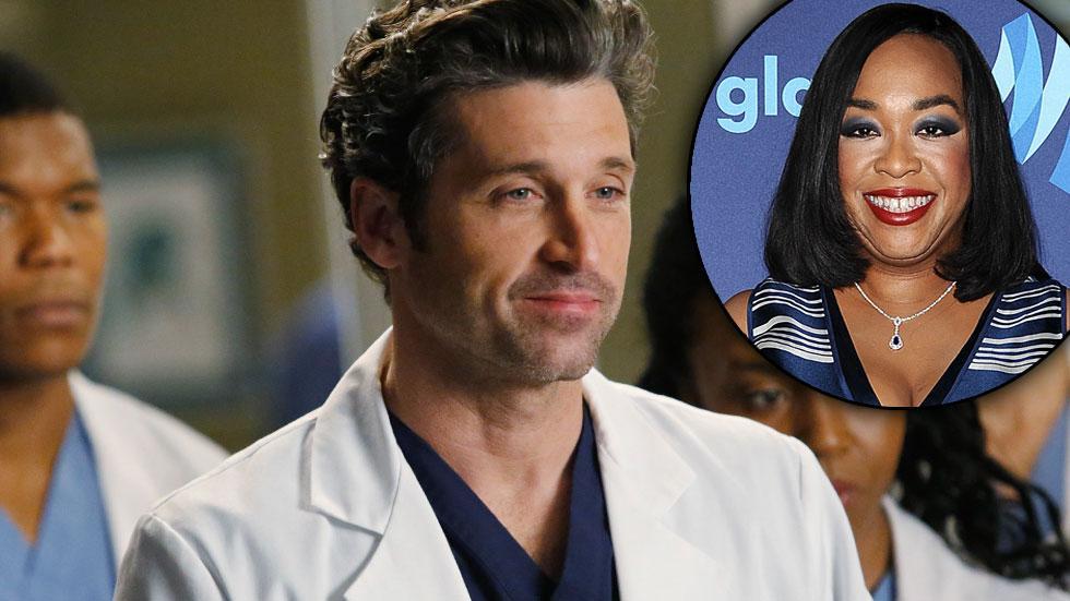 Grey's Anatomy's Shonda Rhimes Kills Off Patrick Dempsey's 'McDreamy' Character