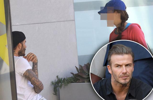David Beckham Victoria Divorce Rumors Soul Cycle Brunette