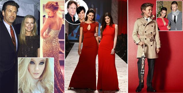 Celebrity kids who model