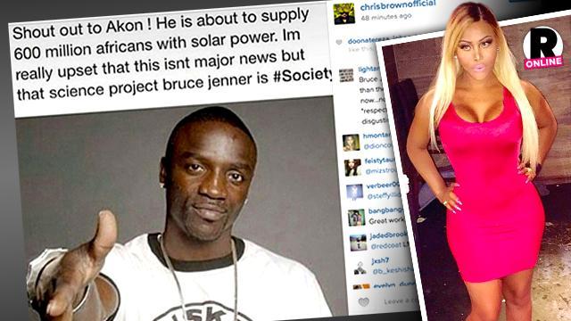 Shauna Brooks Slams Chris Brown Caitlyn Jenner Comments