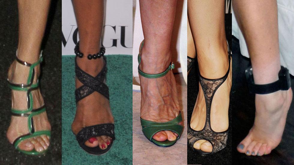 //celebrities best worst feet photos pp