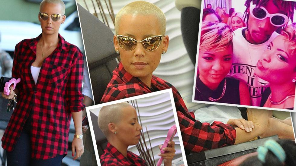 //amber rose gets nails done