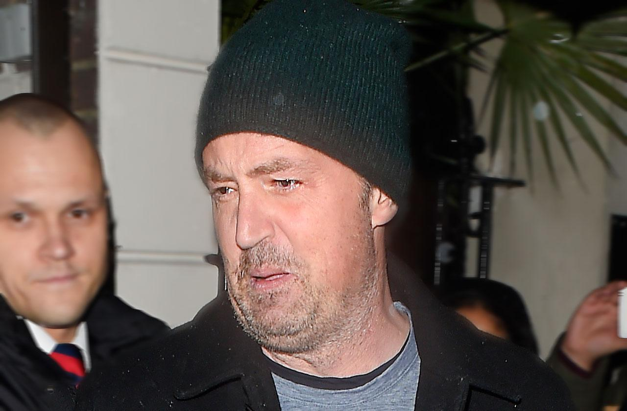 Matthew Perry Kicked Out Therapy Drug Addiction
