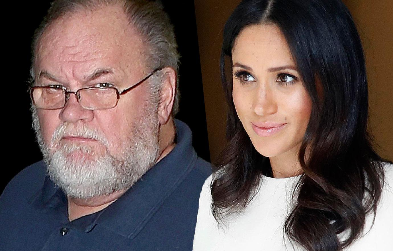 Meghan Markle's Dad Thomas Says She Looks In Pain With Royal Life