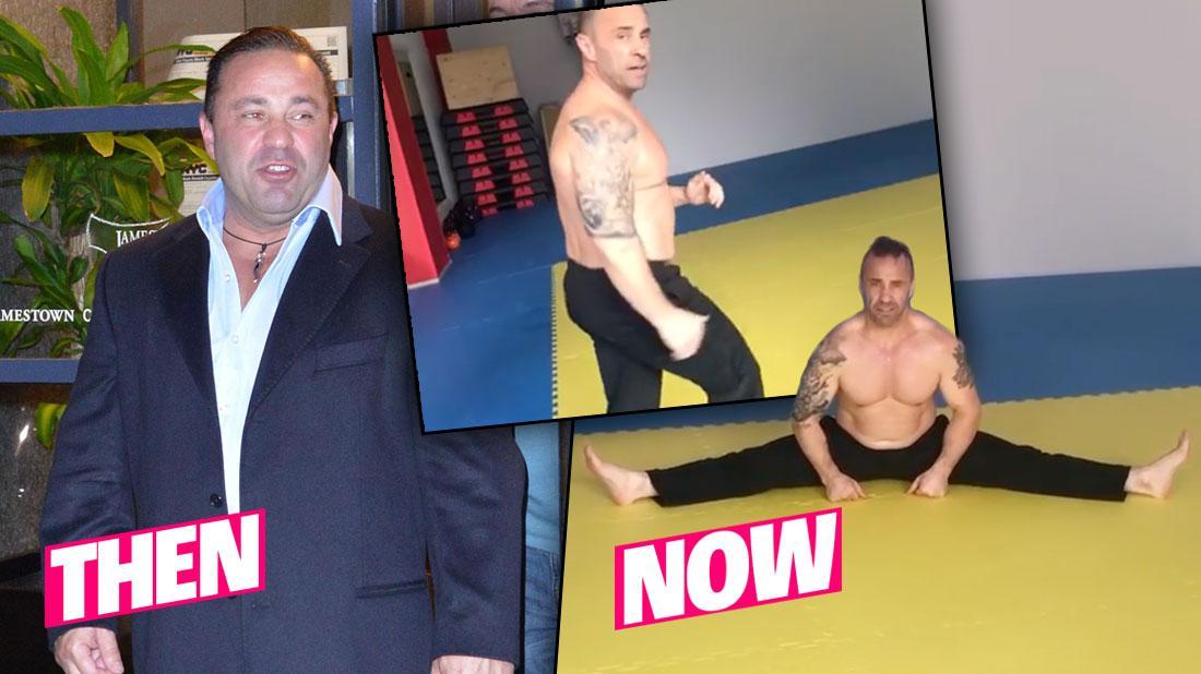 Shirtless Joe Giudice Shows Off Major Weight Loss In Boxing Video