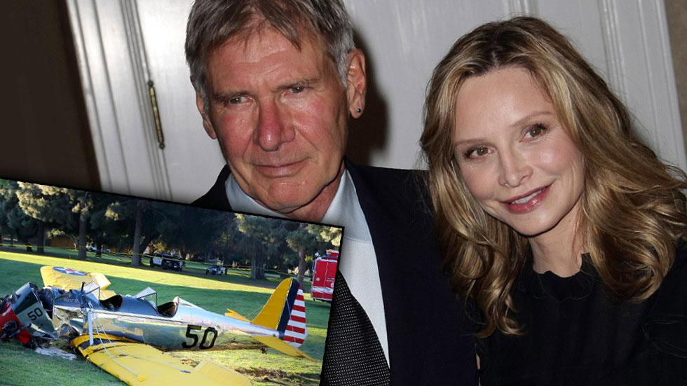 Calista Flockhart Harrison Ford Plane Crash