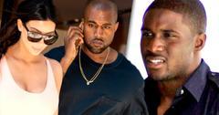 //kim kardashian kanye west reggie bush unhappy pp sl