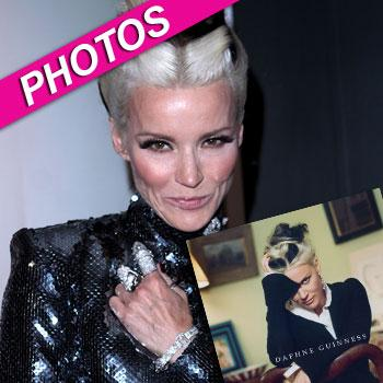 //daphne guinness book getty images