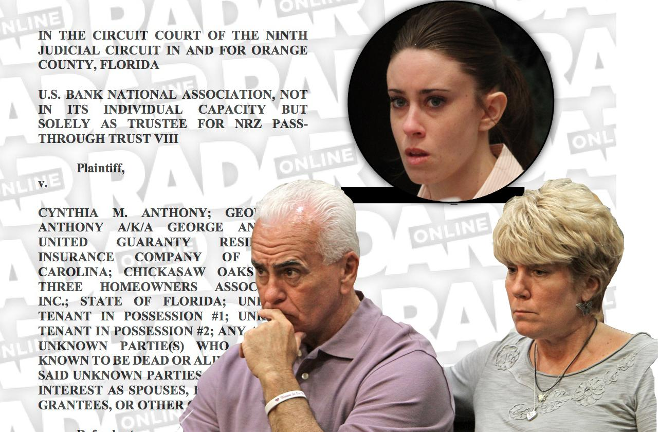 Casey Anthony Parents Blasted In Legal Battle To Save Florida Home