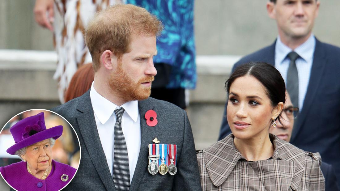 Royal Outcasts Prince Harry & Meghan Ditching Queen Elizabeth's Christmas Festivities