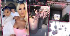Khloe Kardashian's Pink 35th Birthday Party: Glamorous Photos