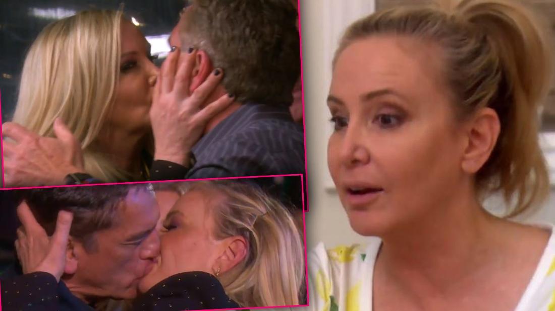 Shannon Beador Kissing Men