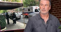 Alec Baldwin Returns Home After Arrest Denies Punching Man