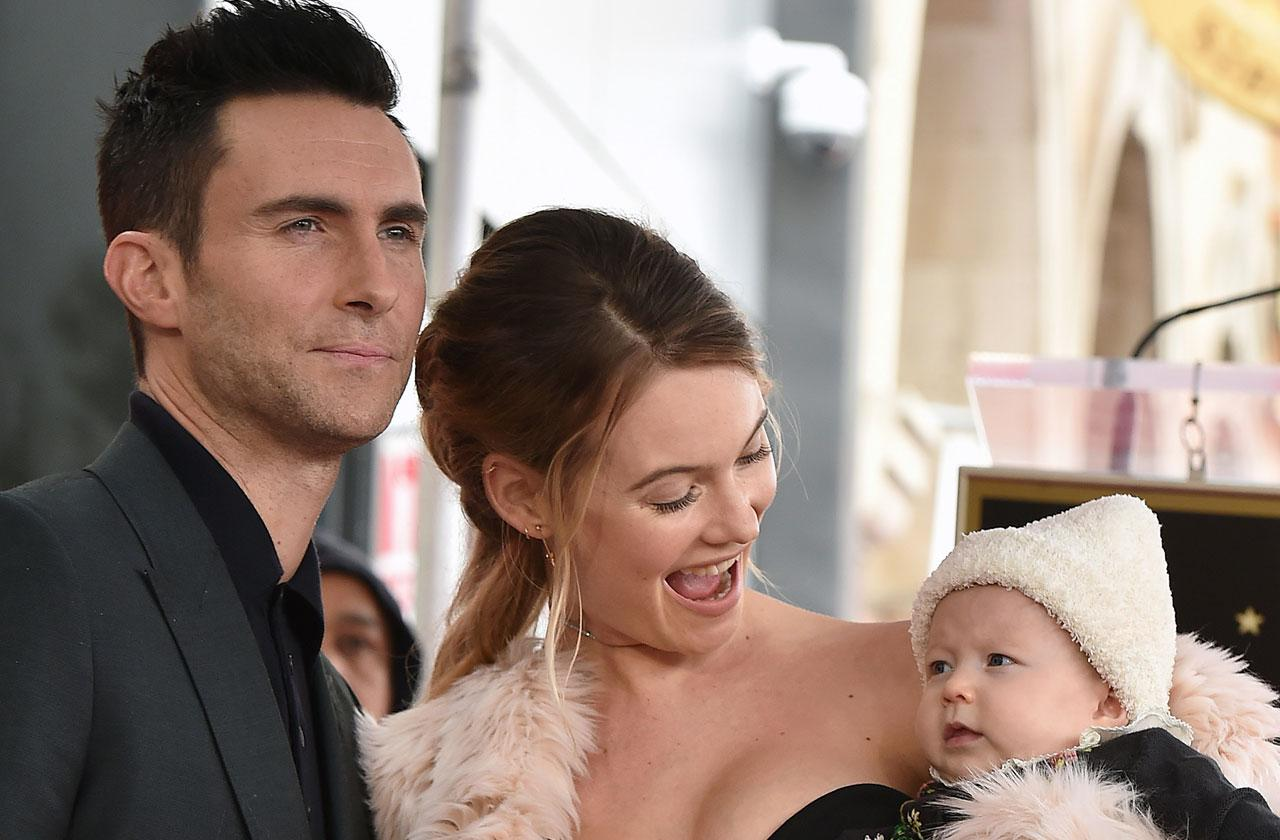 //Adam Levine Behati Prinsloo To Welcome Baby Girl pp