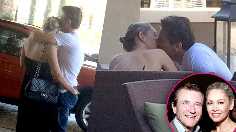 //robert herjavec kym johnson dtws caught kissing pp sl