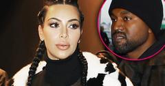 Kim Kardashian Kanye West Saint West Photo