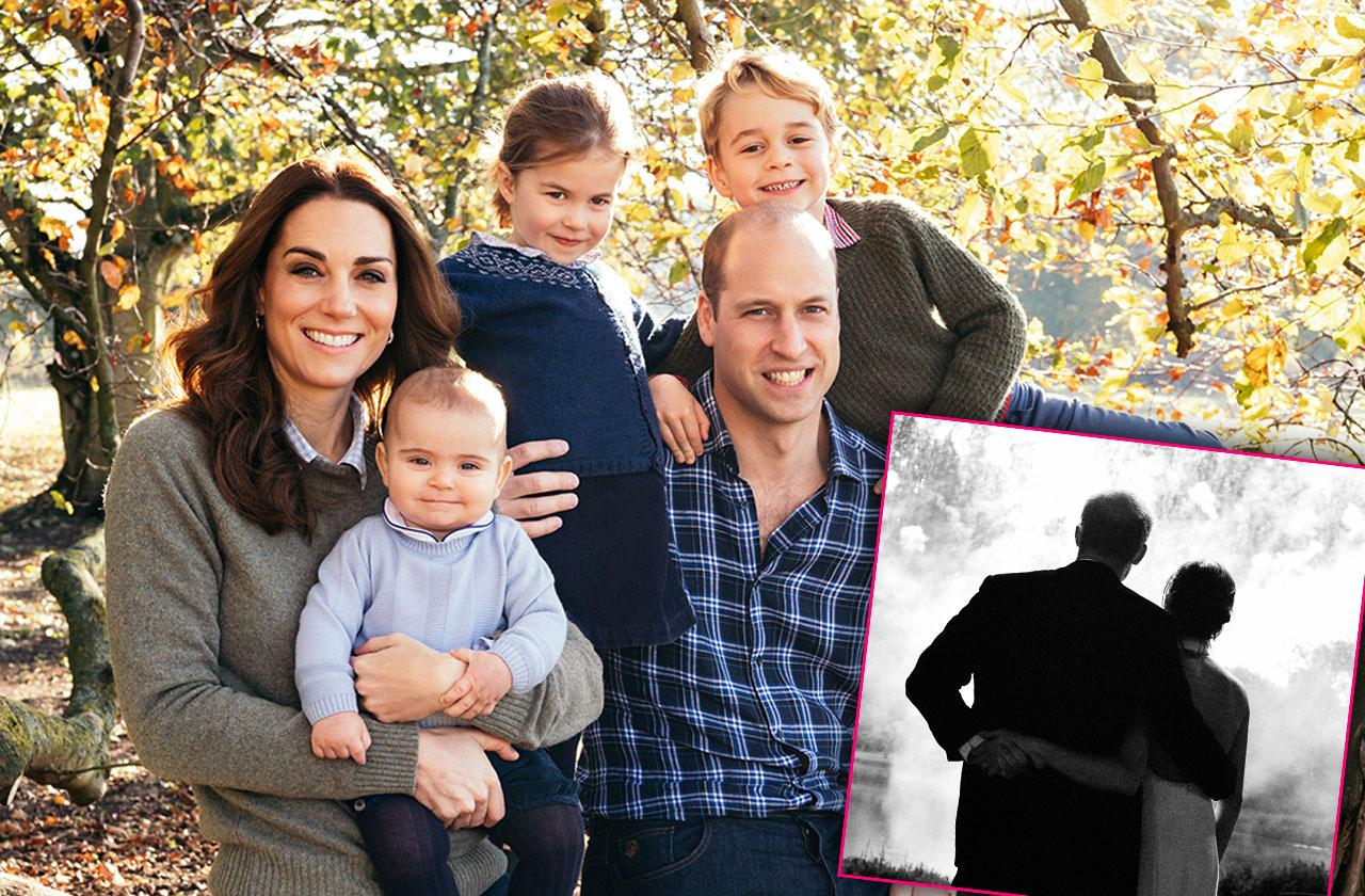 The British Royal Family Release Their Christmas Cards
