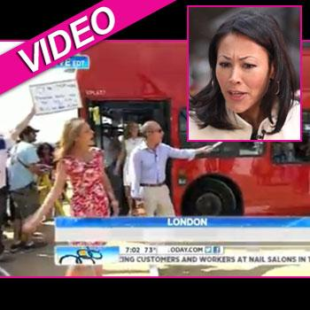 //today anchors london ann curry