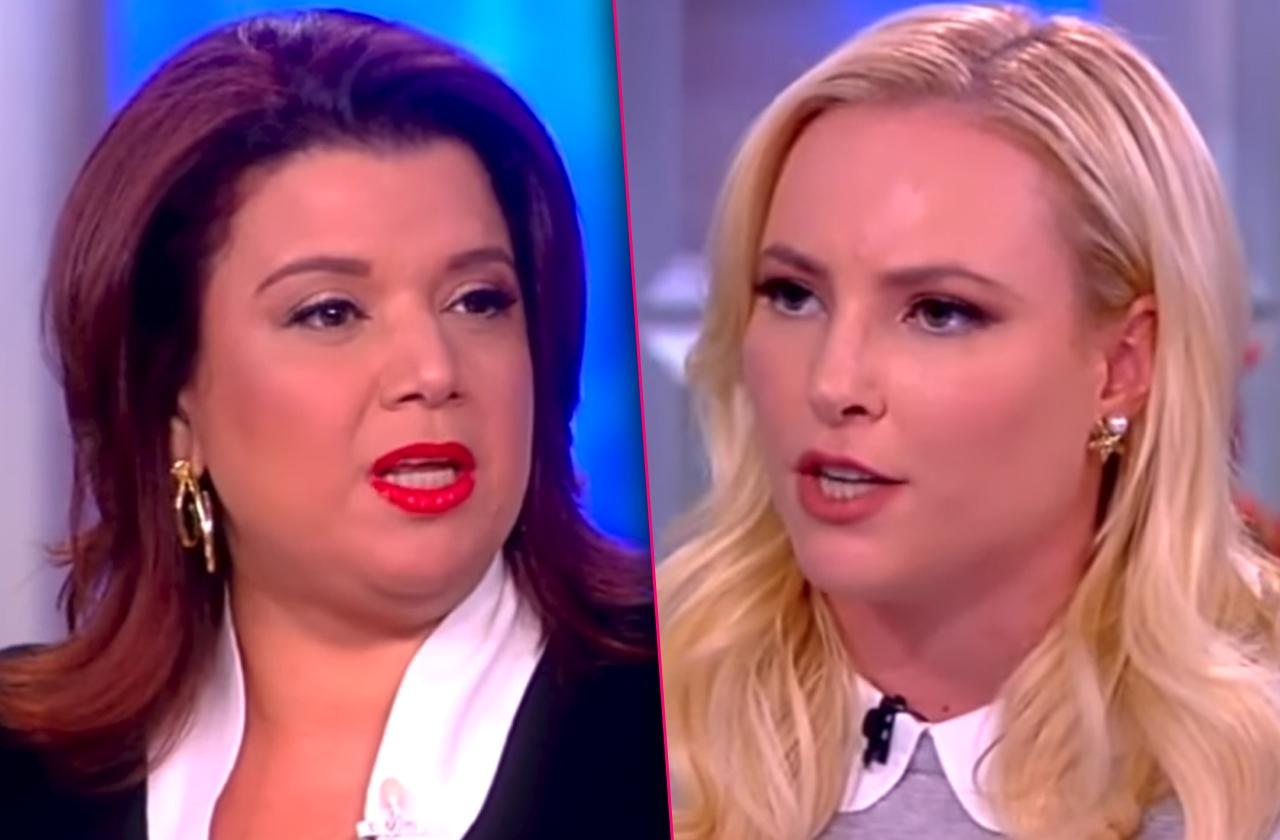 Meghan McCain Screamed Ana Navarro Fight View