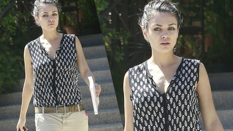 Mila Kunis No Makeup Photos