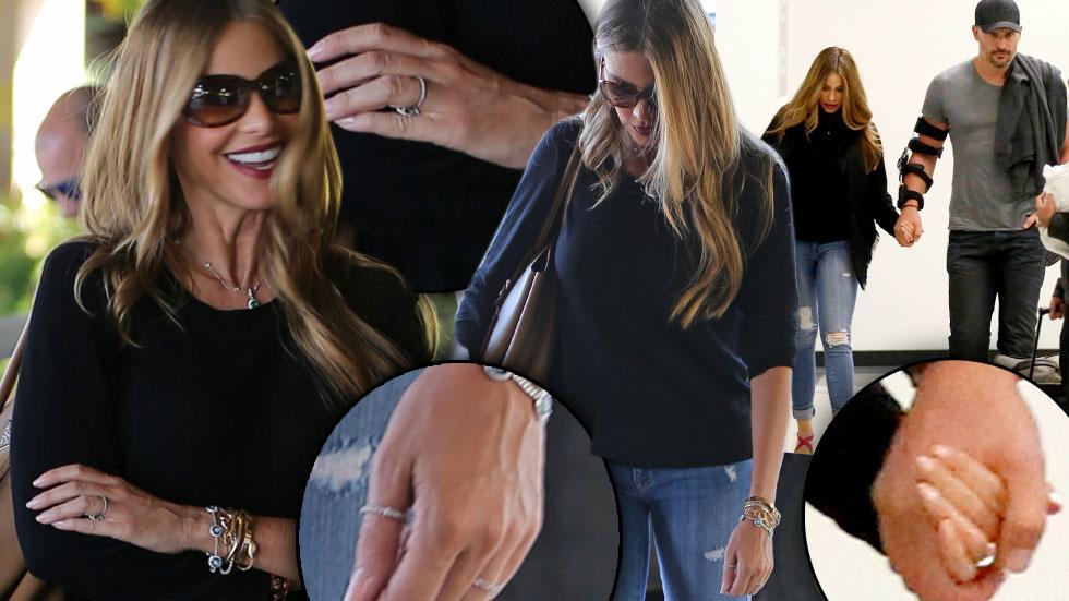 //sofia vergara joe manganiello engagement ring pics