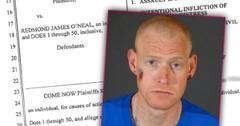 //redmond oneal lawsuit assault battery man pp