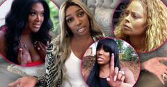 Kenya Moore, Nene Leakes Eva Marcille and Porsha Williams RHOA