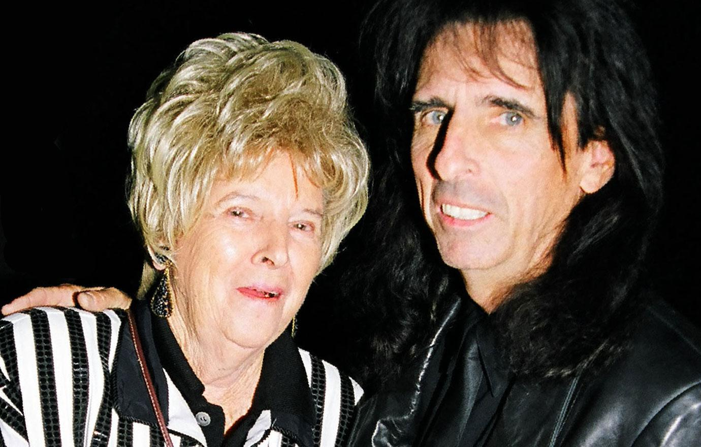Alice Cooper Lives With His Mother