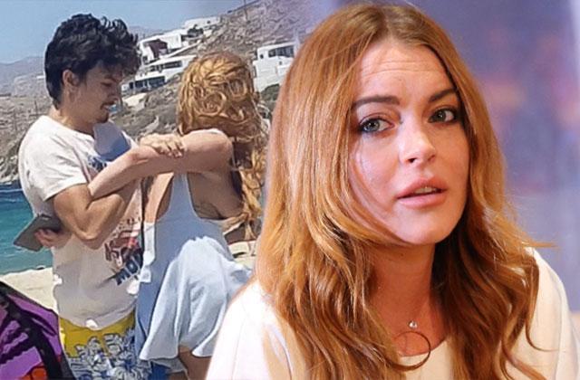 //Lindsay lohan fight stole fan cell phone