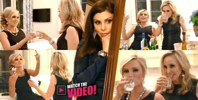 //tamra barney shannon fake friends heather dubrow talk behind back vodka bar rhoc wide