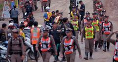 Thai Cave Buried Soccer Kids Are Being Rescued