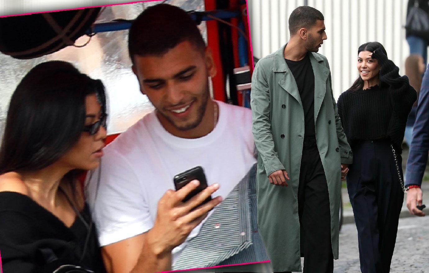 Kourtney Kardashian Younes Bendjima Love In Paris Pics