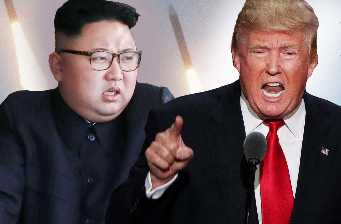 Donald Trump Fights Kim Jong Un As North Korea Fires Ballistic Missile