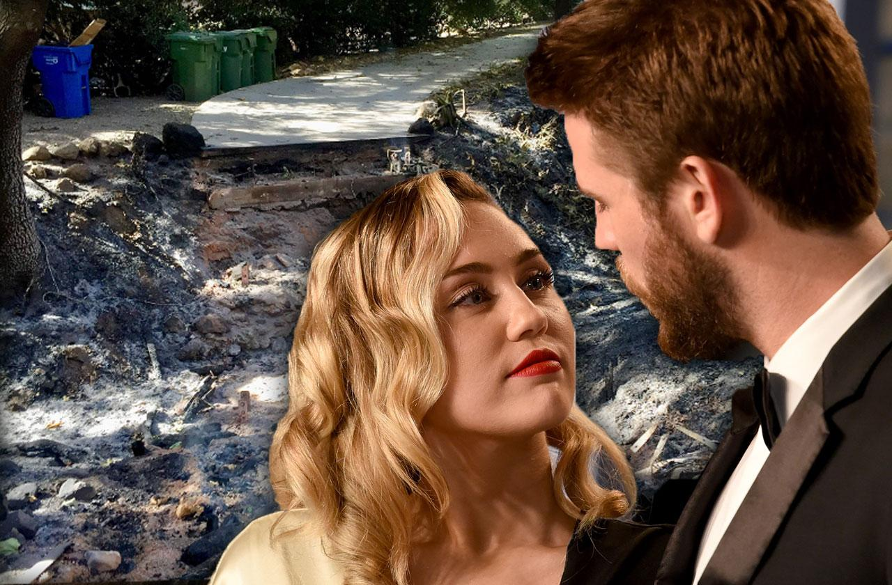 Miley Cyrus Liam Hemsworth Rebuilding Same Location