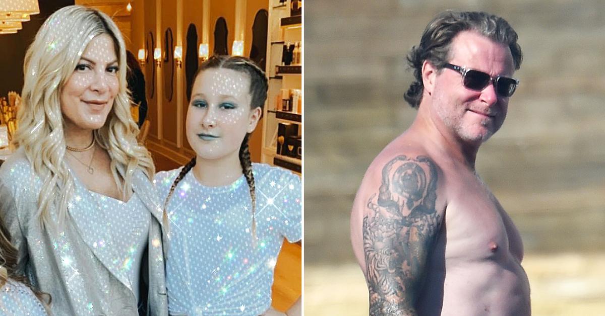 tori spelling daughter stella panic attacks bullied dean mcdermott marriage issues r