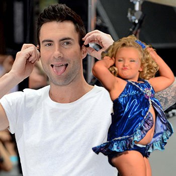 //adam levine hate honey boo boo