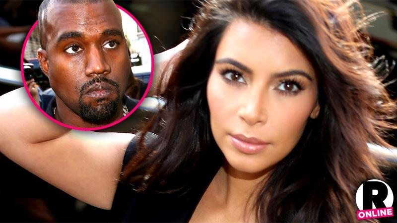 //kim kardashian suffers physical emotional collapse kanye west pp sl