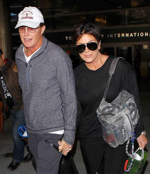 //kris and bruce jenner hold hands