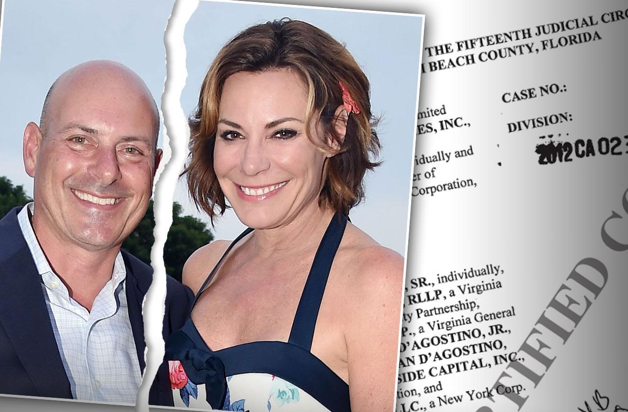 luann de lesseps divorce tom d agostino fraud lawsuit