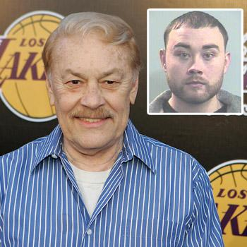 //jerry buss son arrested lakers wenn