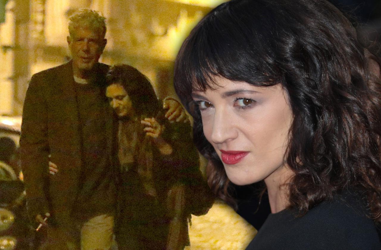 Girlfriend Asia Argento Speaks Anthony Bourdain Suicide